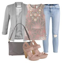 """""""An outfit to smile about"""" by rdomilos ❤ liked on Polyvore featuring Miss Selfridge, J Brand, Marni, INC International Concepts, Latico and Max Studio"""