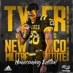Tyler Junior College Football Homecoming – cates.design Football Homecoming, Adidas, College Football, Junior College, Design