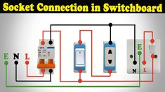 2 pin & 3 pin socket connection in switchboard | House Wiring Switch B...