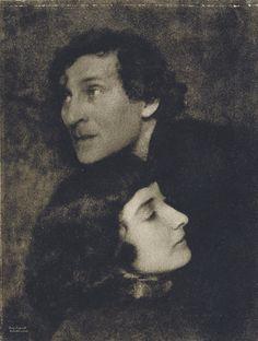 Marc and Bella Chagall, 1923, photo by Hugo Erfurth