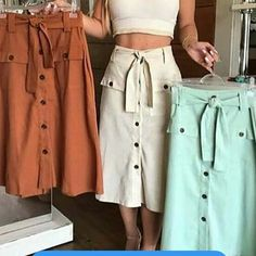 Fashion tips that are fun and stylish Modest Outfits, Skirt Outfits, Modest Fashion, Dress Skirt, Summer Outfits, Casual Outfits, Cute Outfits, Fashion Outfits, Womens Fashion