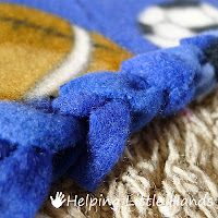DOUBLE LAYERED NO-SEW BRAIDED FLEECE BLANKET TUTORIAL:  The main advantages to a braided edge on a fleece blankets are:    The edge looks pretty classy.   There are no uncomfortable knots to lay on.   Less fleece is lost to the fringe, so you end up with a bigger blanket