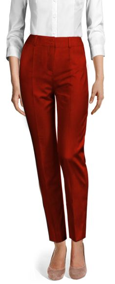 Design your Custom Made to Measure womens dress pants at Sumissura. High waist or normal, Pleated, slim fit or wide-leg, wool or linen pants. Discover the luxury of Made to Measure at an Affordable price Linen Pants, Ankle Length, Dress Pants, Custom Made, Capri Pants, Pajama Pants, Slim, Fitness, Cotton