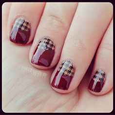 .houndstooth nail