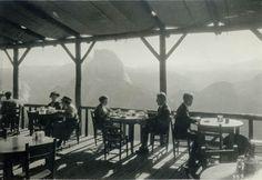 Dining at Glacier Hotel