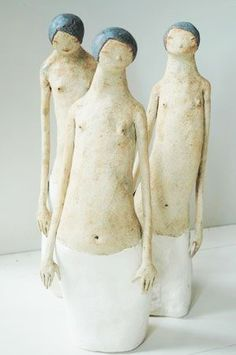 source : avsporing.no  (by norwegian sculptor maria Øverbye) _  collection art sculpture moderne figurative contemporaine  _  _
