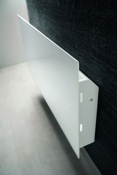 Hot water towel radiator / electric / metal / contemporary - ANDROID by Daniel Libeskind - Antrax IT