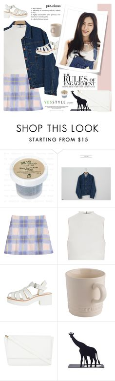 """""""Korean fashion Sale - YesStyle"""" by novalikarida ❤ liked on Polyvore featuring Skinfood, Someday, if, Elizabeth and James, Le Creuset, Nana', Skinnydip, Vera Wang, H&M, women's clothing and women"""