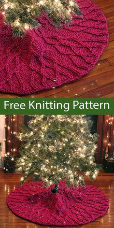 Christmas Tree Knitting Pattern, Christmas Sewing, Christmas Crafts, Xmas, Crochet Quilt Pattern, Christmas Tree Trimming, Animal Knitting Patterns, Knitting Projects, Knitting Ideas