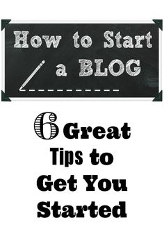 How to Start a Blog... 6 Great Tips to Get You Started!   www.thistlewoodfarms.com #blogging  #blog