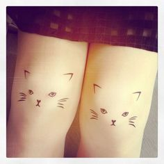 Dalilah I found our best friend tattoos.