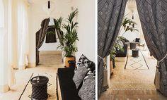 Im Orient sitzt man gerne tief: niedrige Sitzmöbel, schwere Teppiche und kleine Beistelltische sind daher das A und O des Looks