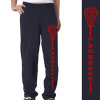 Our super comfortable lacrosse fleece sweatpants are made from an extra-soft ring spun cotton blend for a softer feel and a no-pill performance.