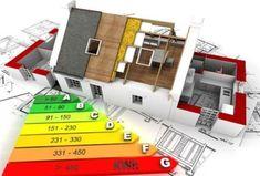 Θα πρέπει πρώτα από όλα να γίνει μια μελέτη από ενεργειακό επιθεωρητή που να ελέγξει τις ιδιαιτερότητες της κατοικίας σας και να προτείνει τις καλύτερες παρεμβάσεις για την συγκεκριμένη κατοικία. 230, Energy Efficiency, Usb Flash Drive, Logo Design, Construction, House Blueprints, 3d Rendering, Symbols, Chart