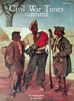 Frank Buchser  60 s Magazine Cover art   the Volunteer s Return  painted by Frank Buchser in 1867