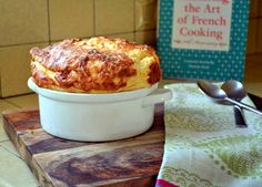 Julia Child's Cheese Souffle - The Little Ferraro Kitchen http://littleferrarokitchen.com/2012/04/julia-childs-cheese-souffle/