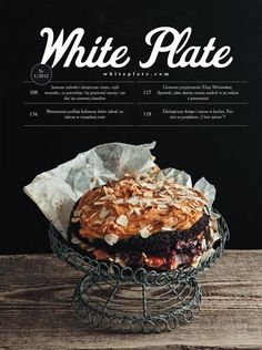 Love this cover: White Plate (Poland) Graphic Design Magazine, Food Graphic Design, Menu Design, Food Design, Print Design, Flyer Design, Food Magazine Layout, Food & Wine Magazine, Magazine Layout Design