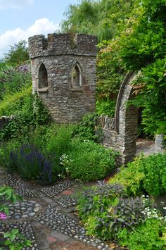 Croft Castle Garden, a National Trust place in Herefordshire by Forestina-Fotos on deviantART