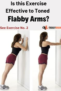 Flabby arms can really ruin your image. It is never too late to start working for your arms and the Knee Pain Exercises, Arm Toning Exercises, Sciatica Exercises, Belly Exercises, Healthy Food To Lose Weight, How To Lose Weight Fast, Ab Workout Machines, Workout Diet Plan, Flabby Arms