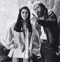 Jennifer Connelly & Jim Henson