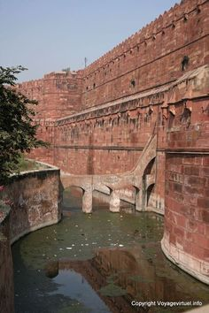 Agra Fort Rouge India pictures Rajasthan -