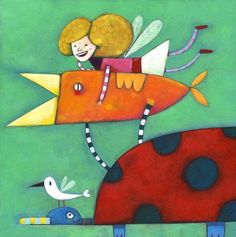 Simona Dimitri - professional children's illustrator