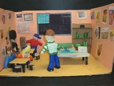 Art Room Rules Claymation - silly to get the kids attention for real art room issues. (5:03)