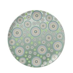 Choose from a great selection of Abstract plates ranging from dinnerware to license plates for you car. Party Plates, Circle Pattern, Dinnerware, Den, Decorative Plates, Abstract, Tableware, Dinner Ware, Summary