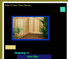 Cedar Privacy Fence Designs 120909 - The Best Image Search
