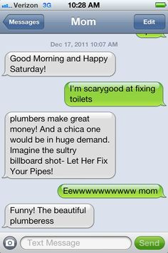 10 Hilarious Texts Between a Mom and her Child