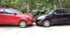 Tata Bolt vs Maruti Suzuki Swift - Swifty Affair Compare Cars, Test Video, Suzuki Swift, First Drive, Driving Test, Affair