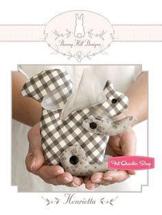 Henrietta Sewing Pattern Bunny Hill Designs by Anne Sutton - Fat Quarter Shop