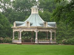 Most Amazing Gazebo ever.  Okay too much for our yard but I love the idea of flower boxes where walls would be.  When Dad builds mine I'll have him do this.
