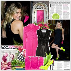 Fergie (22/01/2012), created by misssophie on Polyvore