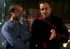 Dr. Radek Zelenka and Dr. E, Rodney McKay, SGA's smart hot intellectual badasses <3 I love Radek's smart, sexy, rumpled and bespectacled character! If only Rodney had reading glasses... They are both total geekgasm-guys.