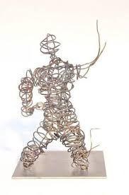 Bildergebnis für draht skulptur
