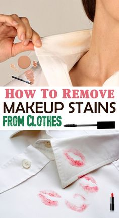 1000 Ideas About Remove Makeup Stains On Pinterest