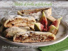Rotolo di frolla ai fichi freschi: un rotolo fragrante e croccante racchiude un delizioso ripieno di fichi freschi arricchito con marmellata di fichi...