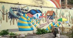 Street art in Sofia, Bulgaria. For families and explorers.