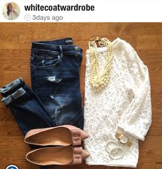 Love this spring outfit!