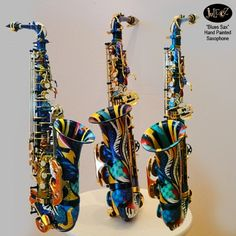 """The Blues"" Saxophone by Juleez"