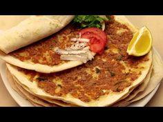Recette de Pizza Turque Lahmacun - Pizza à la viande hachée - YouTube