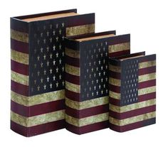 American Flag Book Box Set  $64.89