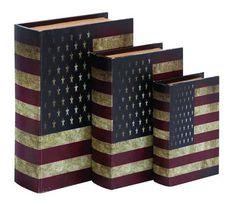 American Flag Book Box Set  $64.89