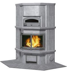 Tulikivi-KTLU2037/91 Corner Fireplace