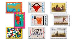 Postzegelontwerpen - Museum voor Communicatie