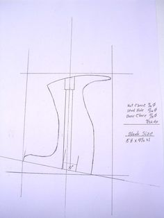 In part one (August we determined the angle of our new tote. We also made a drawing of the tote stud centerline and its angle to the base of the tote and using this we designed a new t… Woodworking Hand Planes, Woodworking Projects Diy, Woodworking Tools, Make A Plane, Tool Tote, Wood Plane, Homemade Tools, Upholstered Sofa, Tool Storage