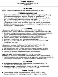 administrative financial resume sample -  http://exampleresumecv.org/administrative-financial