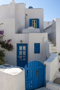 Houses and steps, Amorgos island