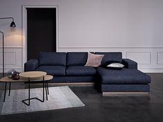 Sepia 4 Sitzer Sofa mit Chaiselongue Links